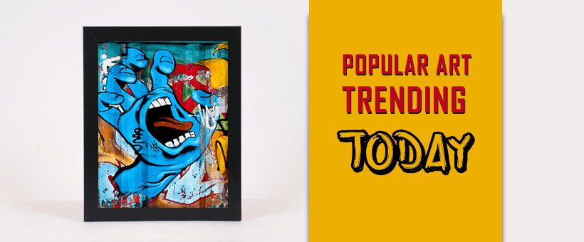 Popular art trends for a smaller time